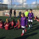 Girls' football finalists