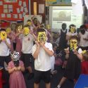 We have been making animal masks