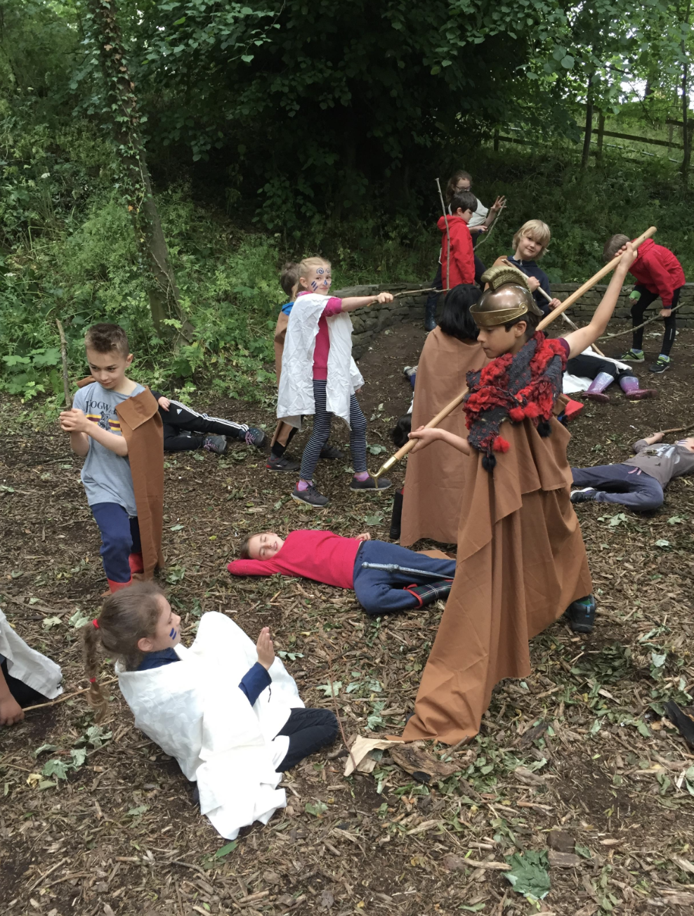 The Romans and the Celts – Forest School – Year 3