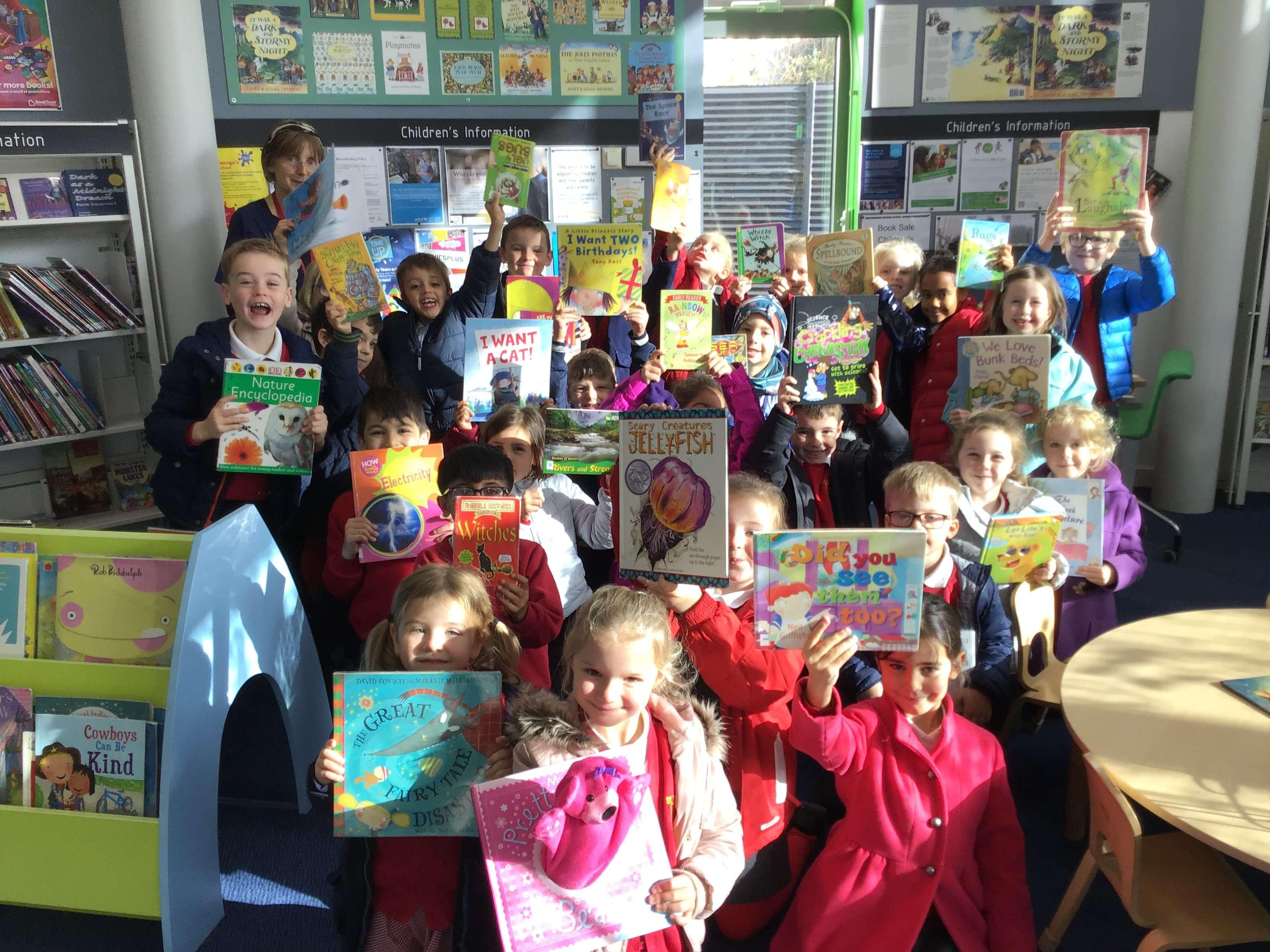 Heaton Library Visit – Year 2