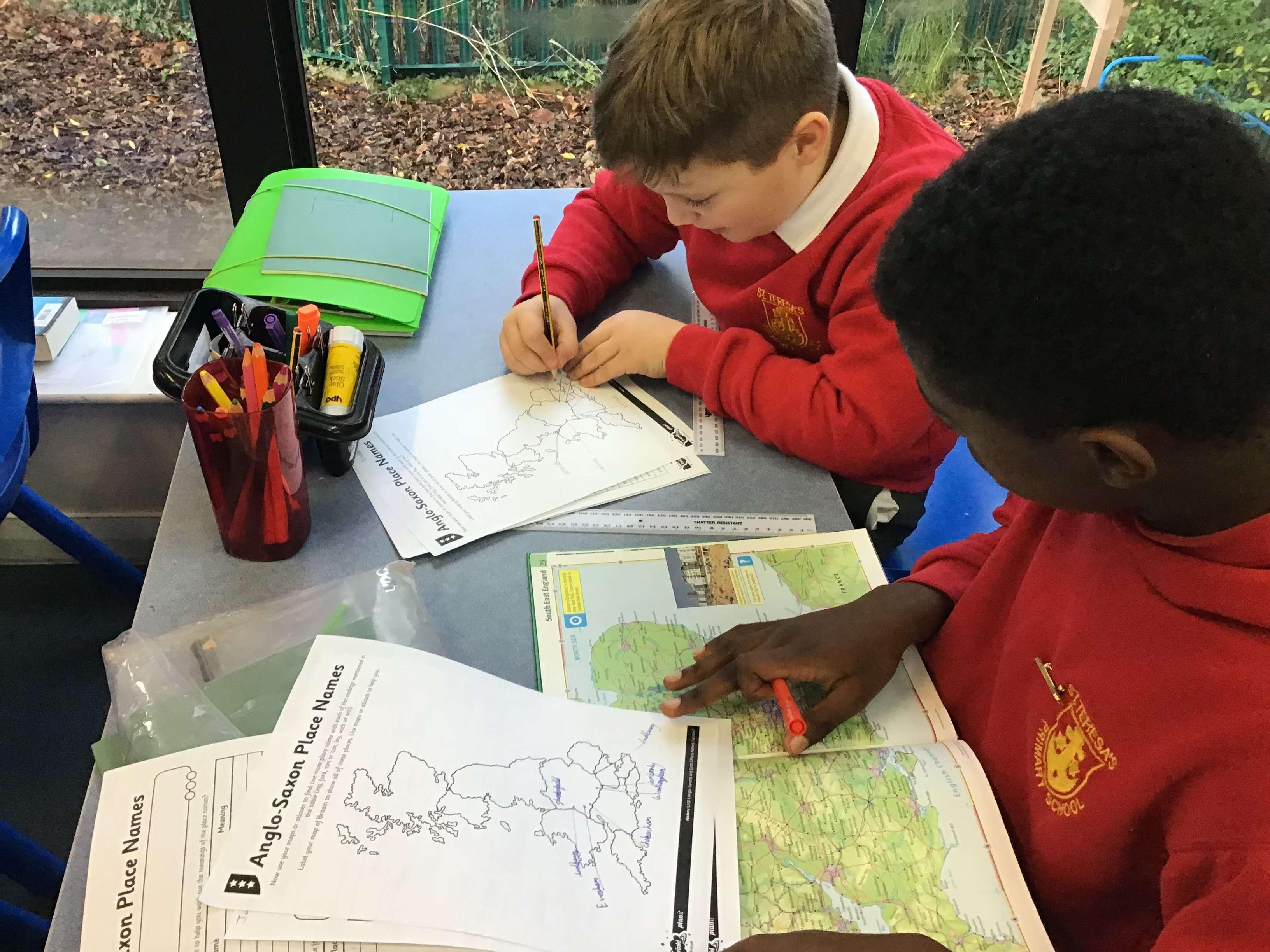 Topic Work | St Teresa's Catholic Primary School