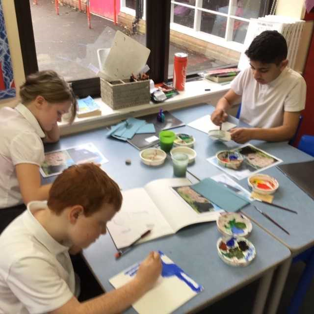 Heaton art project