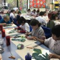 Year 5 Rainforest Painting