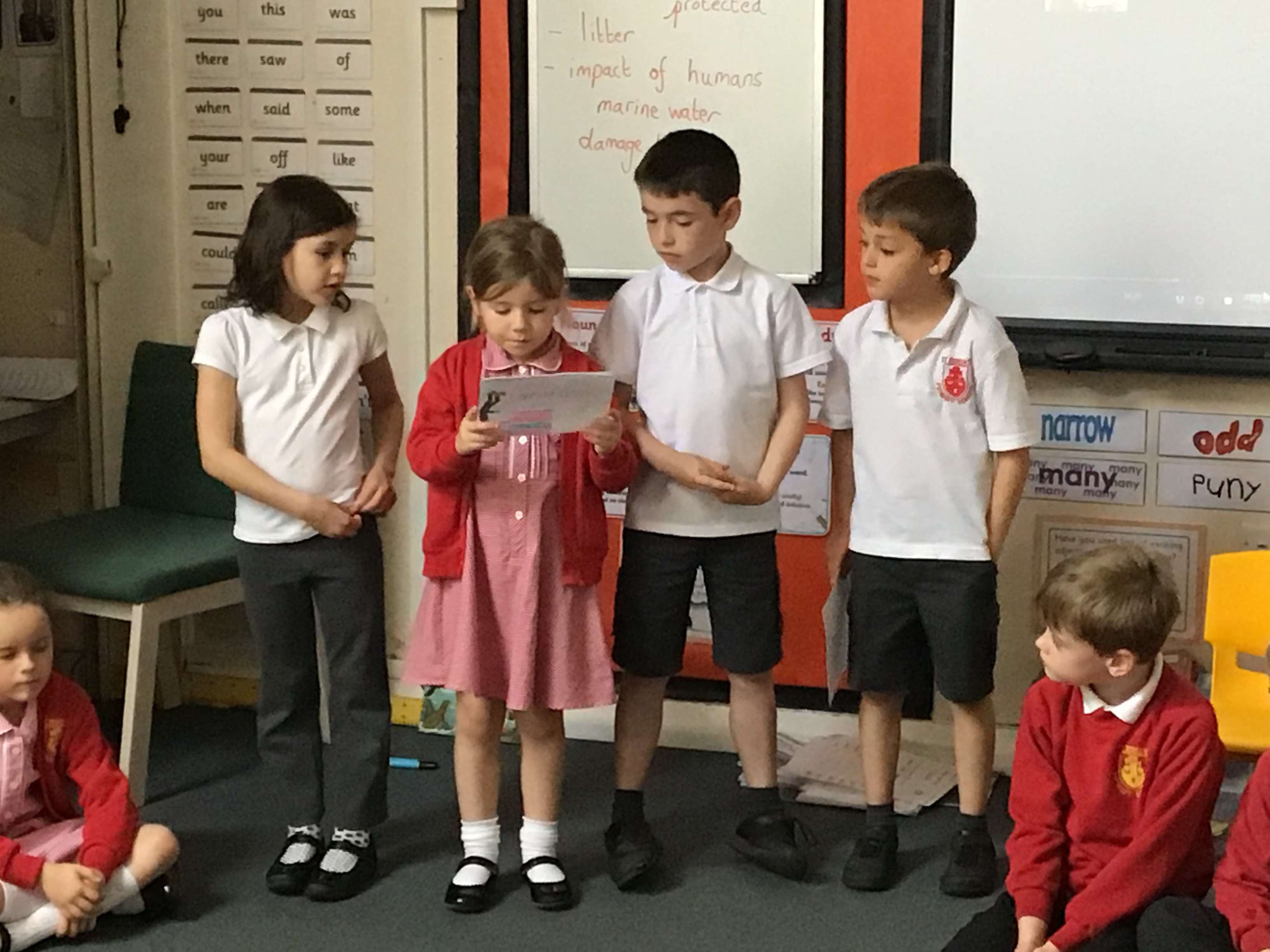 Year 2 – Liturgy 'Giving thanks'