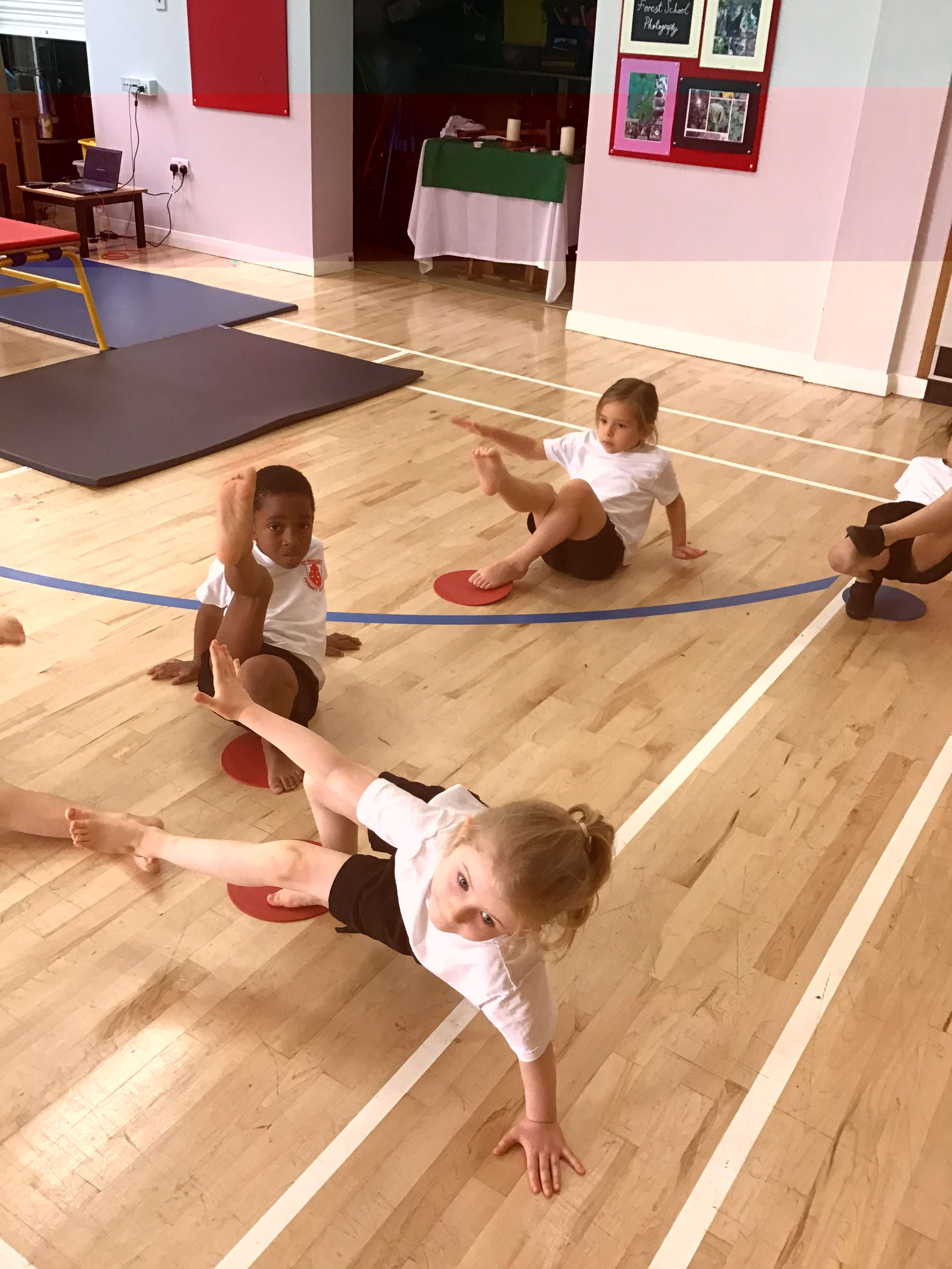 Gymnastics in Year One