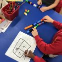 Subtraction using bar modelling