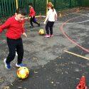 Year 2 – P.E. Football Skills